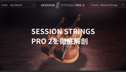 使い勝手の良いストリングス音源、Native Instruments SESSION STRINGS PRO 2を徹底解剖(デモ音源あり)
